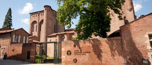 Musée Toulouse-Lautrec, Palais de la Berbiei - Маршрут по Альби: кварталы Castelviel - Castelnau – Bourg Saint-Salvi